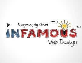 #170 untuk Logo Design for infamous web design: Dangerously Clever oleh coreYes