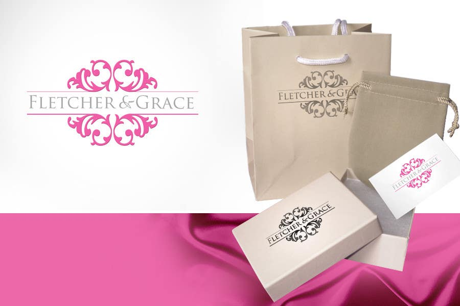 Penyertaan Peraduan #                                        450                                      untuk                                         Logo Design for Fletcher & Grace