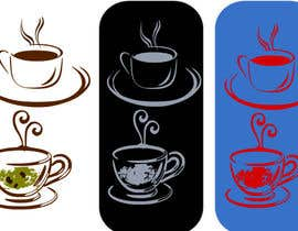 #48 for Design a Logo with theme a cup of tea af manildamle