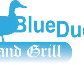nº 3 pour Design a Logo for two blue ducks bar and grill par tonydigby