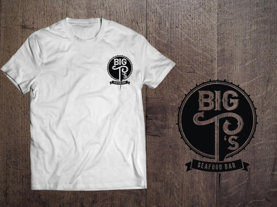 Kilpailutyö #22 kilpailussa Design a T-Shirt for Big T's Seafood