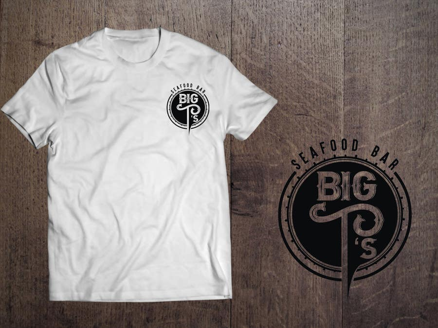 Kilpailutyö #23 kilpailussa Design a T-Shirt for Big T's Seafood
