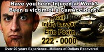 Graphic Design Contest Entry #42 for Design a billboard for Injury Attorney Eric Posin