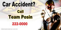 Graphic Design Contest Entry #78 for Design a billboard for Injury Attorney Eric Posin