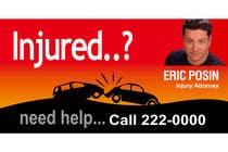 Bài tham dự #34 về Graphic Design cho cuộc thi Design a billboard for Injury Attorney Eric Posin