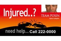 Bài tham dự #105 về Graphic Design cho cuộc thi Design a billboard for Injury Attorney Eric Posin
