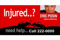 Bài tham dự #37 về Graphic Design cho cuộc thi Design a billboard for Injury Attorney Eric Posin