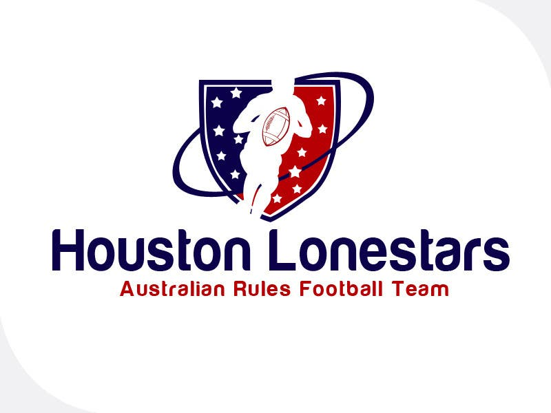 Contest Entry #                                        192                                      for                                         Logo Design for Houston Lonestars Australian Rules Football team