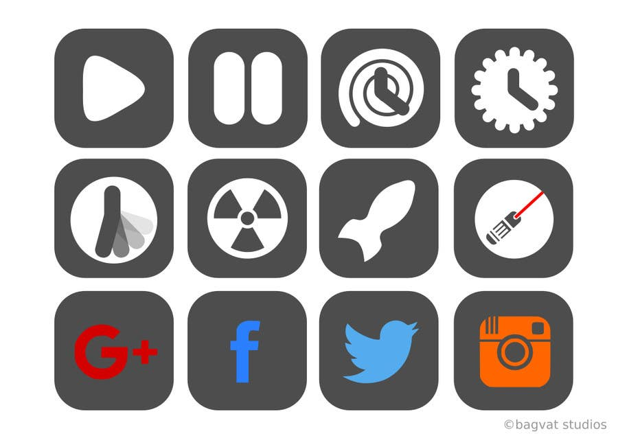 Entry 5 By Praveennnla For Menu And Some Icons For Space Shooter