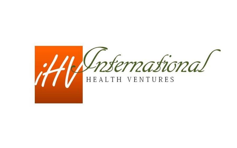 Konkurrenceindlæg #133 for Graphic Design for International Health Ventures (ihv)