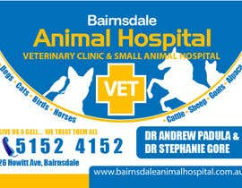 nº 23 pour Graphic Design for Bairnsdale Animal Hospital par mohihashmi