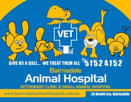 nº 32 pour Graphic Design for Bairnsdale Animal Hospital par mohihashmi