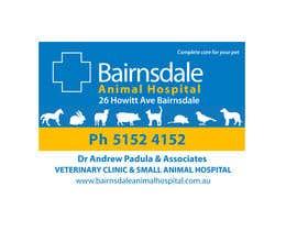 nº 22 pour Graphic Design for Bairnsdale Animal Hospital par anandy