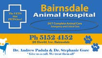Graphic Design Inscrição do Concurso Nº4 para Graphic Design for Bairnsdale Animal Hospital