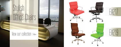 #7 for Design a Banner for Office Chairs by llpromo