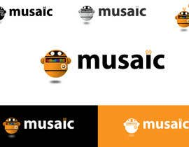 #479 para Logo Design for Musaic Ltd. por danumdata