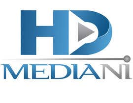 #55 para Design a Logo for HD Media NI por rivemediadesign