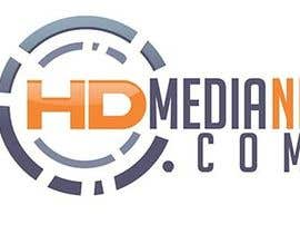 #10 para Design a Logo for HD Media NI por DobleN2013