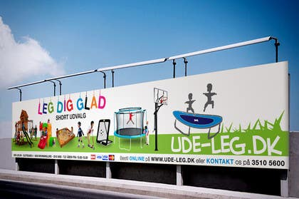 Image of                             Banner for outdoor advertising 8...
