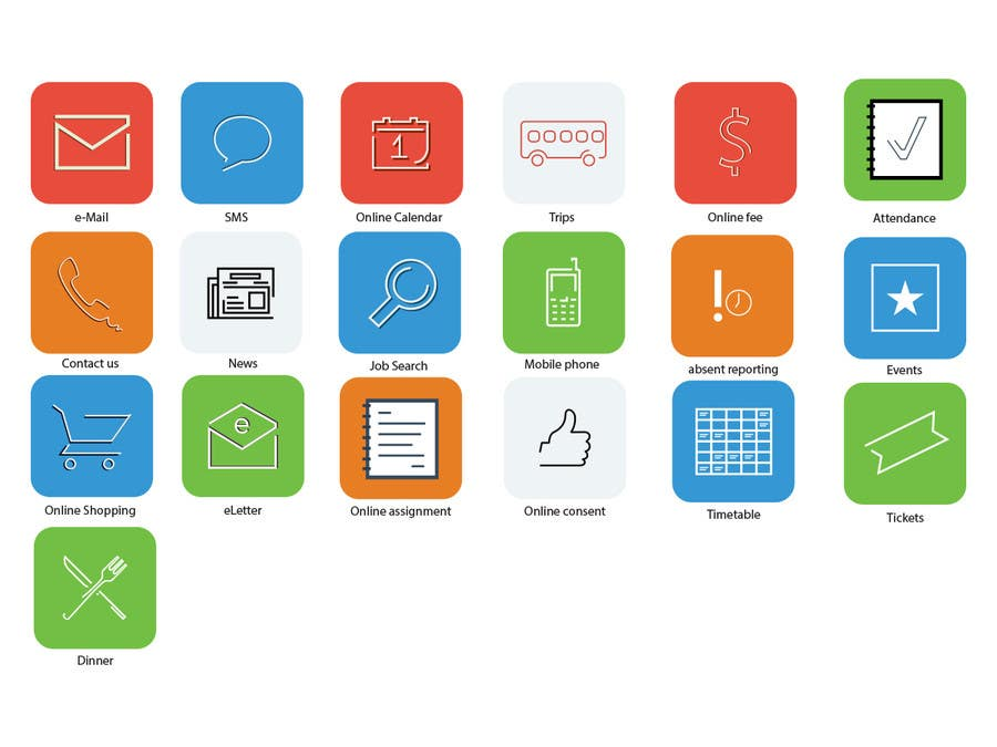 #24 for Design some Icons for Our apps by darefremov