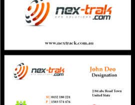 designfrenzy tarafından Design some Business Cards for Nex-Trak.com için no 12