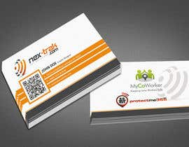 GurpreetSngh220 tarafından Design some Business Cards for Nex-Trak.com için no 6
