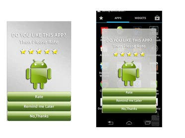 #3 for Rating Motivation Screen for Android App by dulphy82