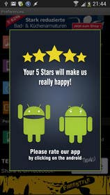 #25 for Rating Motivation Screen for Android App by DanaDouqa