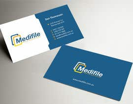 nº 17 pour Design some Business Cards for Medifile par ezesol