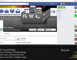 #12 for Facebook Cover for Newly Launched Global App - WorkApp by suyasha15