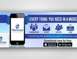 #16 for Facebook Cover for Newly Launched Global App - WorkApp by AkshayVerma9