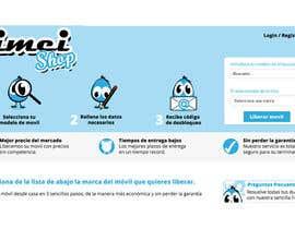 nº 3 pour Diseñar un logotipo for IMEIshop par milagrosfigueira