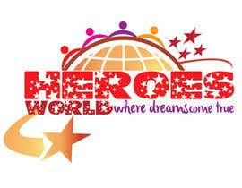 #54 para Design a Logo for HEROES WORLD por hammadraja