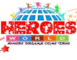 #61 para Design a Logo for HEROES WORLD por nandhakumar0711