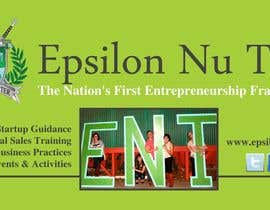 #4 for Design a Epsilon Nu Tau Fraternity Table Banner af amcgabeykoon