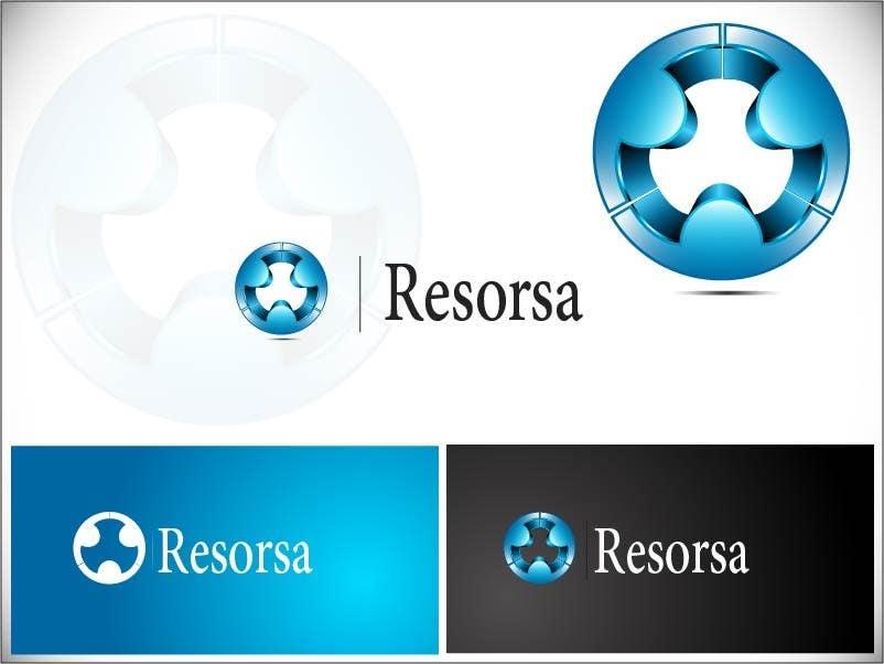 #491 for Design en logo for Resorsa by rominpixelzeesh