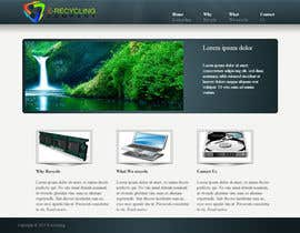 #3 for E recycling company website af cosminici27