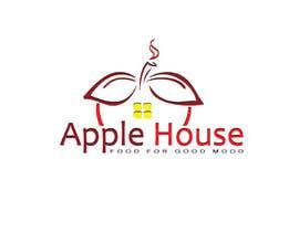 Kkeroll tarafından Create Logo for restaurante /Разработка логотипа для ресторана Apple House için no 37