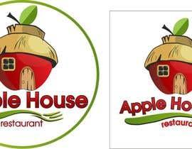CioLena tarafından Create Logo for restaurante /Разработка логотипа для ресторана Apple House için no 56