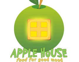 #29 untuk Create Logo for restaurante /Разработка логотипа для ресторана Apple House oleh Bodrey