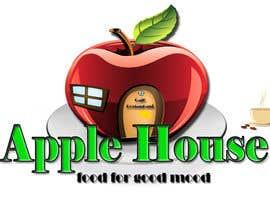nº 46 pour Create Logo for restaurante /Разработка логотипа для ресторана Apple House par Pato24