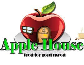 #46 untuk Create Logo for restaurante /Разработка логотипа для ресторана Apple House oleh Pato24
