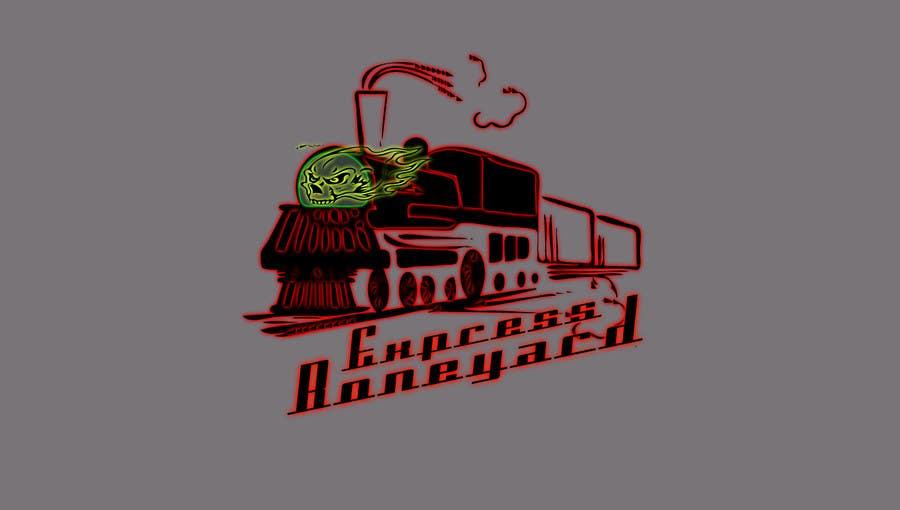 Penyertaan Peraduan #3 untuk Design a Logo for Boneyardexpress - repost