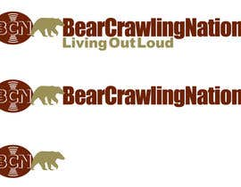 #22 para Icon Design for BearCrawling Nation por stanbaker