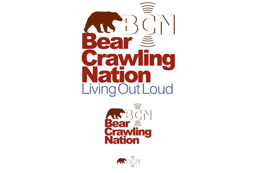 Kilpailutyö #                                        17                                      kilpailussa                                         Icon Design for BearCrawling Nation