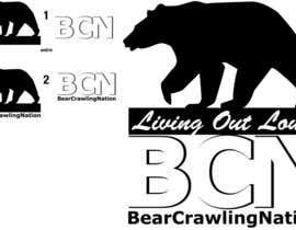 #9 untuk Icon Design for BearCrawling Nation oleh stanbaker