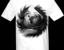 nº 130 pour Design a T-Shirt print from a photo provided par jonydep