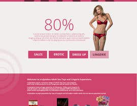 SteinerGrey tarafından Design an amazing front page for an adult toys website. için no 1
