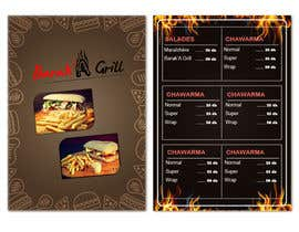 nº 13 pour creation de menu et flyer pour un fast food par zouhairgfx