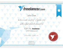 #27 cho Design Freelancer.com's new Achievement Certificate bởi saliyachaminda